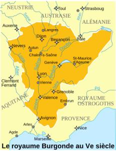 Royaume Burgonde Ve siècle