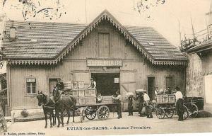 source première, Evian-les-bains - 1910