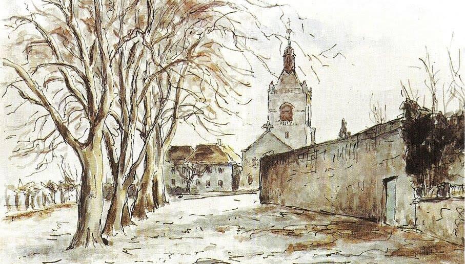 Monastère des soeurs Clarisse Place d'Allinge
