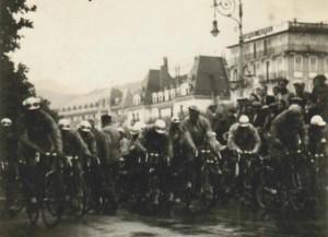 départ 19eme étape du tour de France à Evian en 1931