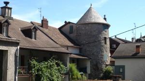Tour - Vestige possible de l'ancienne Villa Cachat - Tour
