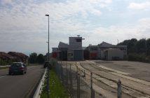 Terrain de l'ancienne usine d'embouteillage de l'eau d'Evian 14.000 m2 déserté depuis 2012