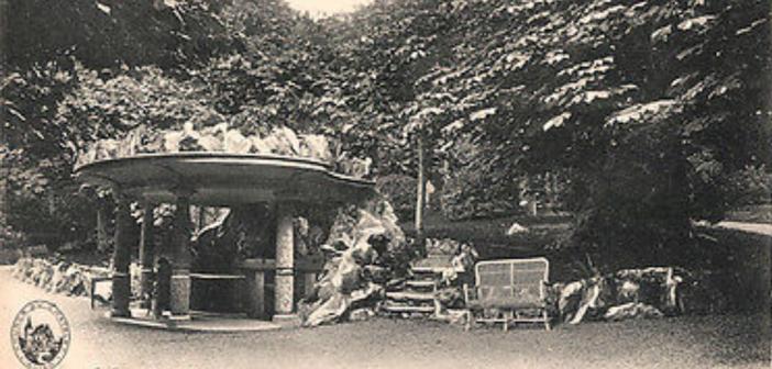 Evian Buvette du parc - établissements et sources du Chatelet