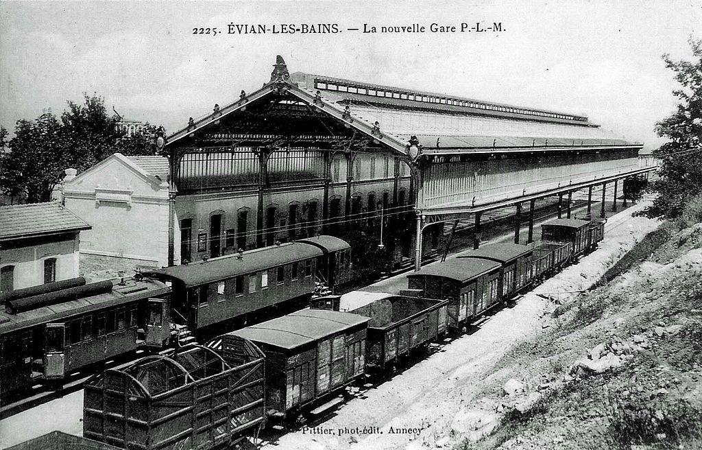 Hotel De La Gare Evian