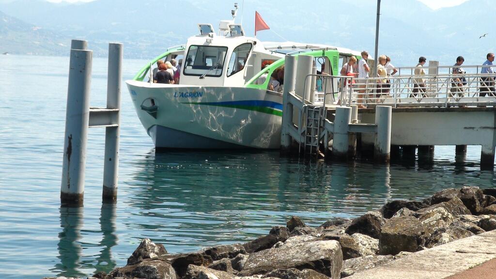 promenade bateau evian