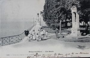 Buste de Grégoire Bibesco Bassaraba de Brancovan, père d'Anna de Noailles - carte environ 1900