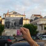 Théâtre, avec une importante transformation du tissu urbain