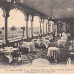 Etablissement et sources du Chatelet - Promenoir et salle de lunch