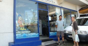 Michaël le pêcheur évianais, parle histoire de pêche avec Agnès Tavel
