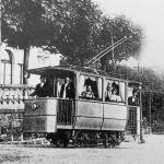 Patache de 1898 à 1908 - le tram de l'hotel Splendide