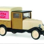 Renault NN pick-up bâché Evian Source Cachat - Rietze - Echelle 1:87
