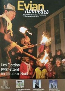 """tribune publiée dans """"Evian nouvelles"""" N°46"""
