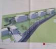 Le projet sur le terrain de l'ancienne usine Evian - proche de la gare