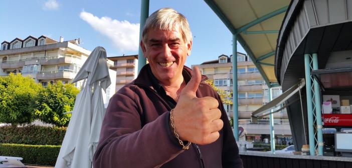 Frank, vice président du club de handball d'Evian