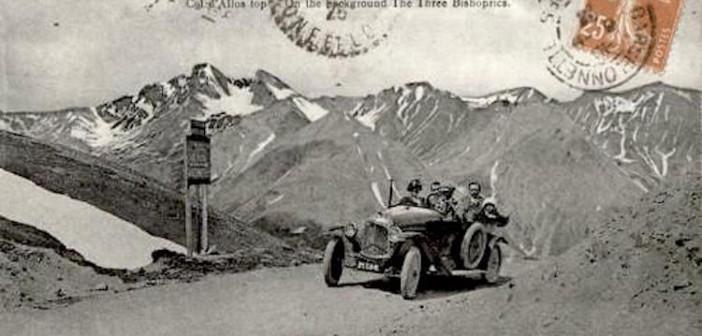 La route mythique des Alpes