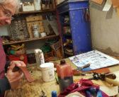 Artisan maroquinier d'Evian