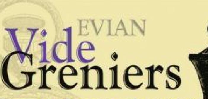 vide grenier à Evian-les-bains
