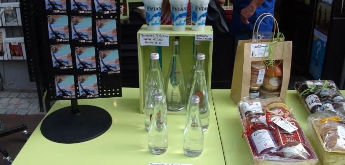 75 cl d'eau d'Evian à 6 euros