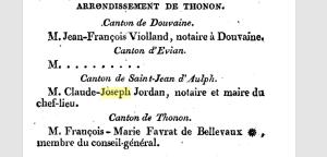 Annuaire du Département du Léman pour l'année 1814