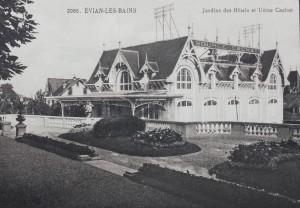 Jardins des hôtels et usine Cachat