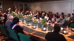 Après les élections de mars 2014, le conseil municipal se réunit pour mettre en place l'équipe de Marc Francina, élu maire depuis 1995