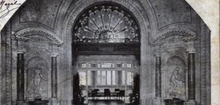 Hall central des anciens thermes d'Evian Les Bains - Palais Lumière 74500)