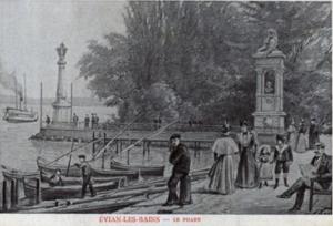 Le phare d'Evian