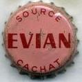 capsule Evian source Cachat