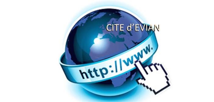 Cité d'Evian sur internet