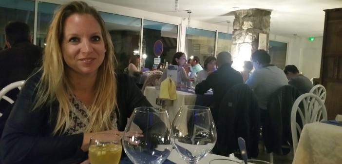 Agnès Tavel, La Table du Grand Lac, à Amphion, commune de Publier