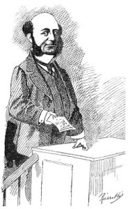 André Alfred (caricature 1873)